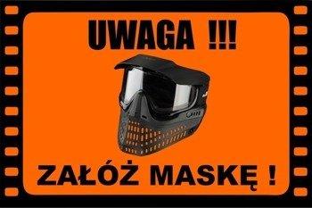 Field Sign Banner - Załóż Maskę