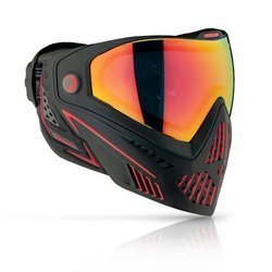 Goggle DYE I5 Fire (black/red)
