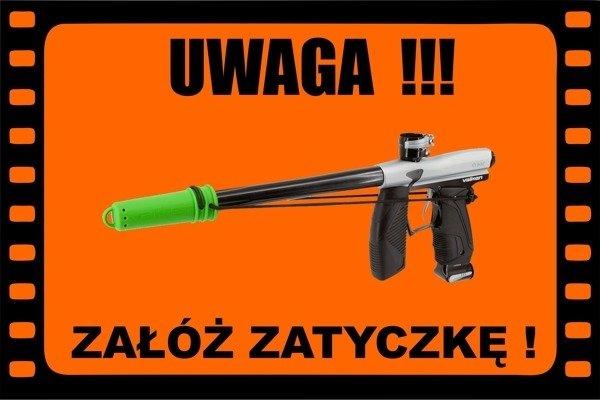 Field Sign Banner - Załóż Zatyczkę