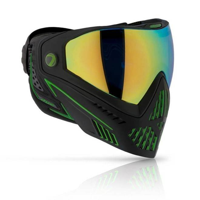 Goggle DYE I5 Emerald (black/lime)