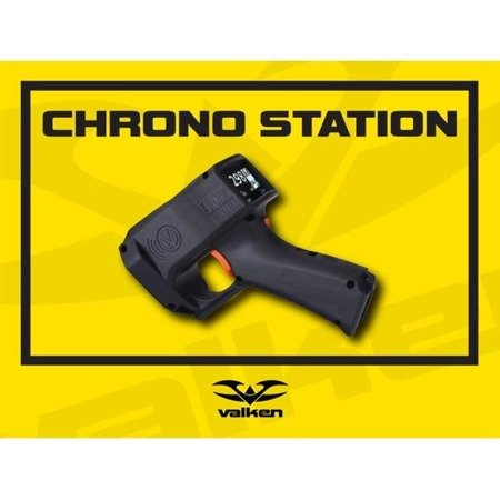 Valken Field Sign/Banner Barrel Chrono Station