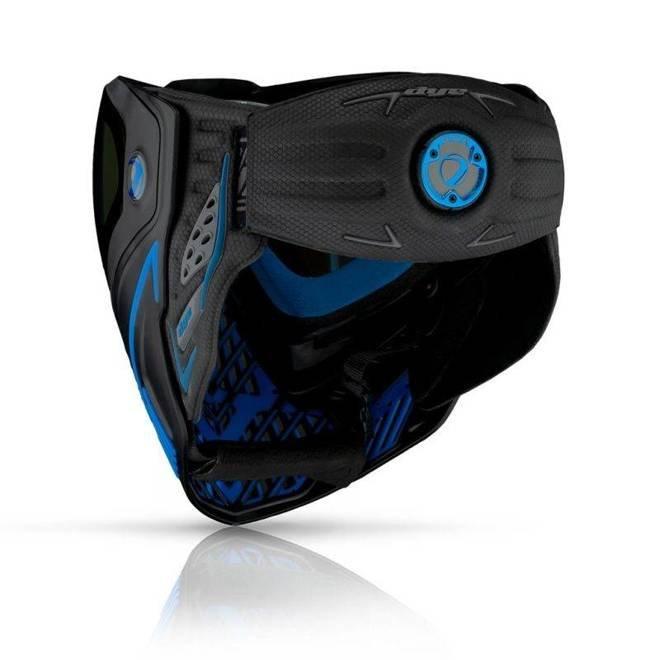 Maska DYE I5 Storm (black/blue)
