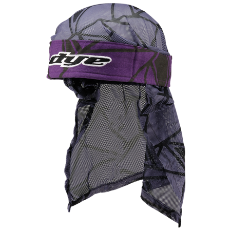 Opaska Dye Head Wrap (infused purple black grey)